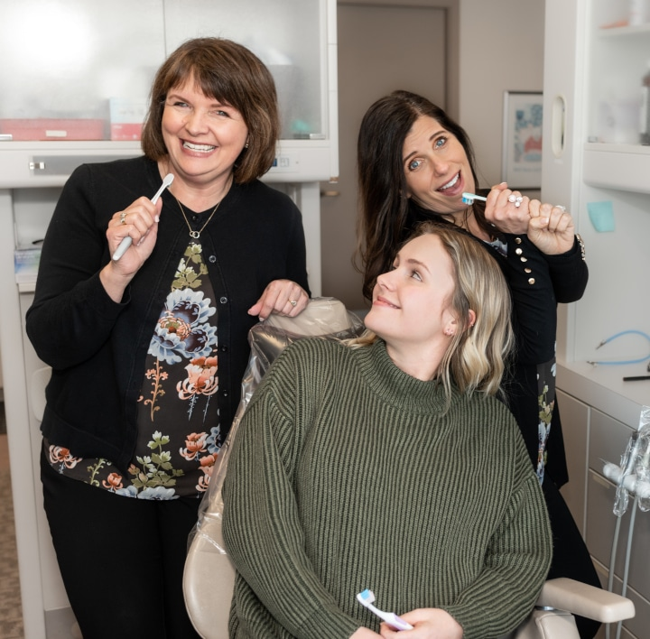 Tacoma Dentist - Brushing Teeth